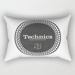 Technics - Disc Jockey Rectangular Pillow