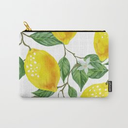 TROPICAL LEMON TREE Carry-All Pouch