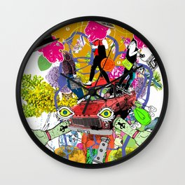 Select Collision Wall Clock