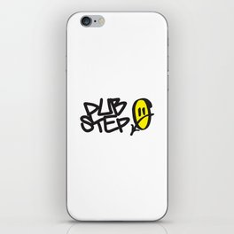 Dubstep Smile EDM Quote iPhone Skin