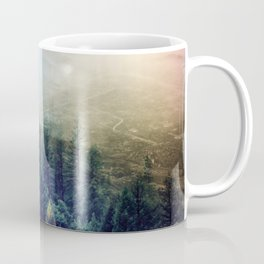 flipped forest Coffee Mug