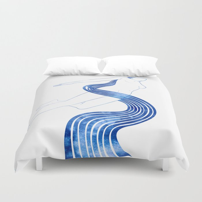 Water Nymph XLVIII Duvet Cover
