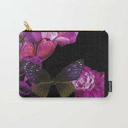 Purple Wings  Carry-All Pouch