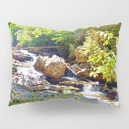 Mountain Waterfall Pillow Sham