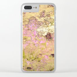 Patination Clear iPhone Case