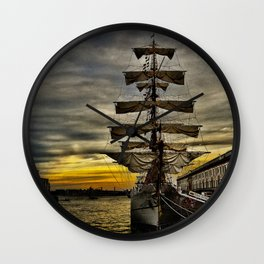 Tall Ship BAE Guayas Wall Clock