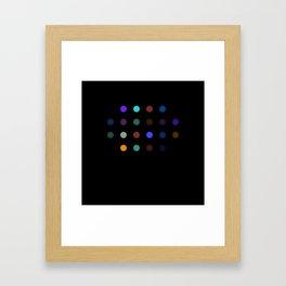 Damien Hirst, outspoken again! Framed Art Print
