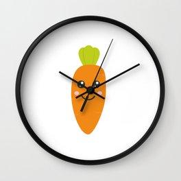 Cute baby carrott Wall Clock