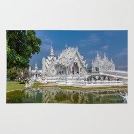 White Temple Thailand Rug