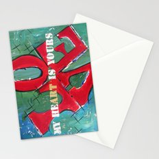 My Art is Yours Stationery Cards