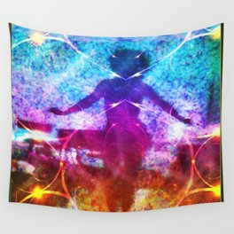 """""""Dancer In Shadows"""" by surrealpete Wall Tapestry"""