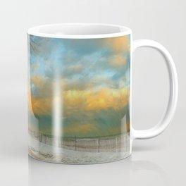 Winter Fenceline Coffee Mug