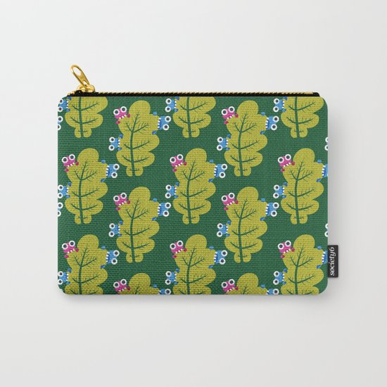 Bugs Eat Green Leaf Carry-All Pouch