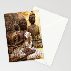 the 4 Buddhas Stationery Cards