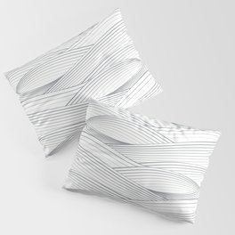 Smooth Japanese Wave Pillow Sham