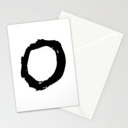 Enso circle 4 Stationery Cards