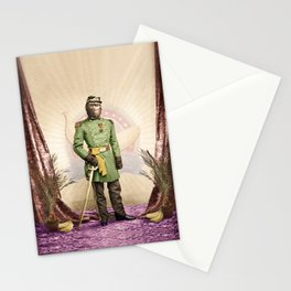 General Simian of the Glorious Banana Republic Stationery Cards