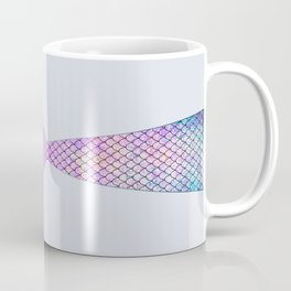 mermaid tail (purple & green) Coffee Mug