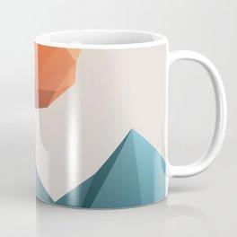 Low Poly Mountain Coffee Mug