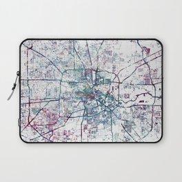 Houston map Laptop Sleeve