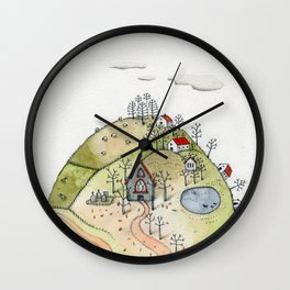 Daylesford Dreaming Wall Clock