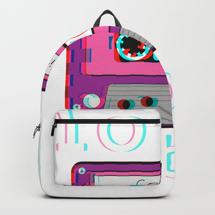 Low Fidelity Music Product Aesthetic Tape Lo Fi Vibes Design Backpack By Dc Designstudio Society6