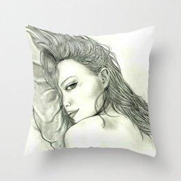 Playing.. Throw Pillow
