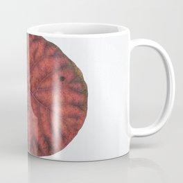 Round Leaf Coffee Mug