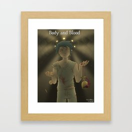 Body & Blood - Chapter Cover Framed Art Print