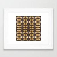 bread Framed Art Prints featuring bread by Jaeyun Woo