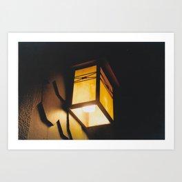 Light Rids Darkness-Film Camera Art Print