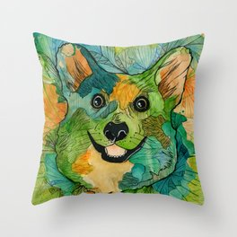 Squish Squish Throw Pillow