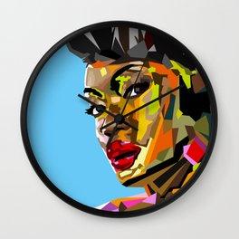 Modern Woman Wall Clock