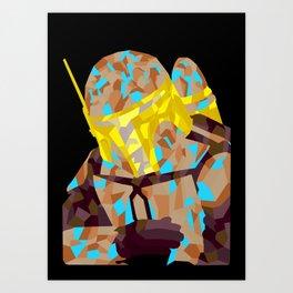 Jango Art Print