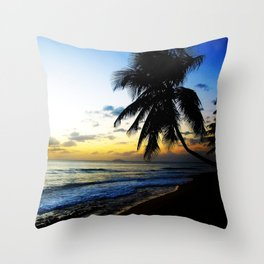 Sunset @ Rincon 2 Throw Pillow