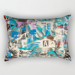 Life through adversity Rectangular Pillow