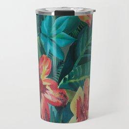 floral 114 Travel Mug