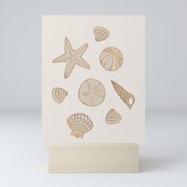 Beach Treasures Mini Art Print
