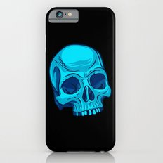 Skull - Cyan iPhone 6s Slim Case