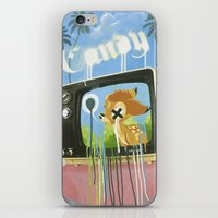 candy iPhone & iPod Skins featuring CANDY by Chris Arran