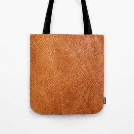 Farmhouse Style Original Camel Leather Oriental Design. Tote Bag