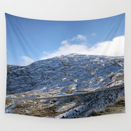 The Drive to Cardrona Ski Fields from Queenstown, New Zealand Wall Tapestry