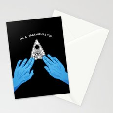 Me & Paranormal You - James Roper Design - Ouija (white lettering) Stationery Cards