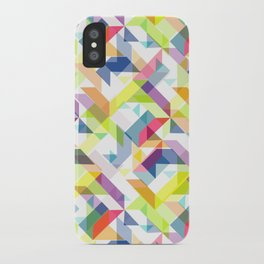 Aztec Geometric II iPhone Case