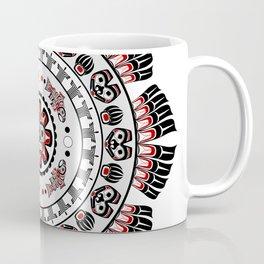Pacific Northwest Native American Art Mandala Coffee Mug