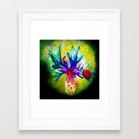 ladybug Framed Art Prints featuring ladybug by haroulita