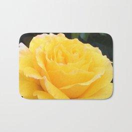 My Yellow Rose Bath Mat