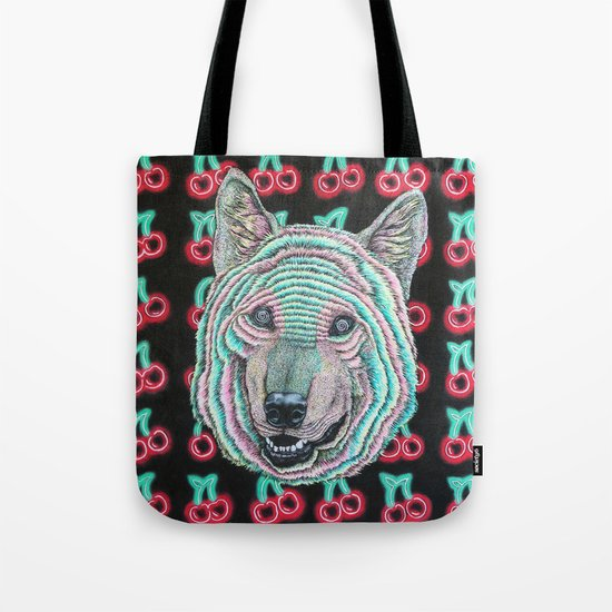 The Power Wolf Parties with God Tote Bag