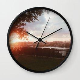 Ivar Lo Park, Stockholm, Sweden  Wall Clock