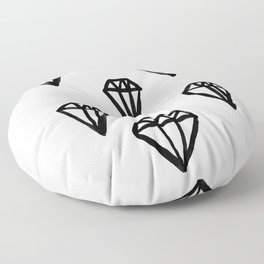 Little Rocks - Diamonds Floor Pillow
